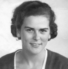 black and white photo of Joe Townsend's Gran