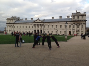 Dancing, Old Royal Naval College
