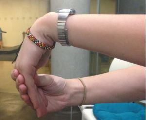Extensor Wrist stretch