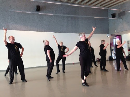GOLDs rehearsing in studio 1, Laban Building