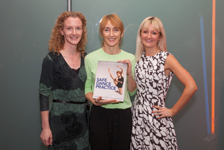 Edel Quin, Sonia Rafferty and Charlotte Tomlinson