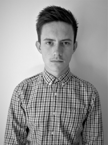Lewis headshot bandw